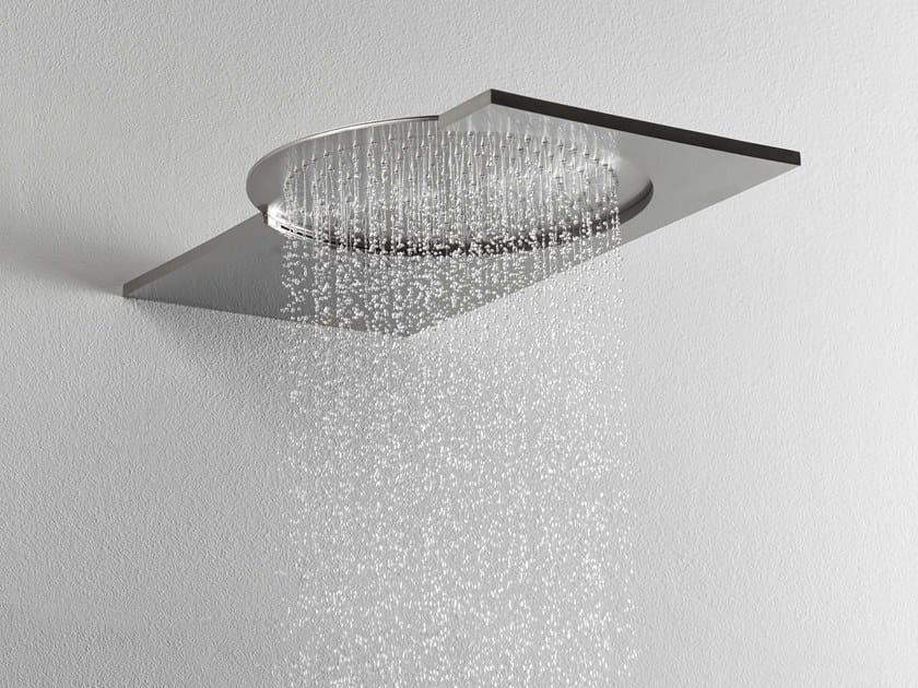 Wall-mounted 2-spray stainless steel overhead shower DOT316 | 2-spray overhead shower by RITMONIO