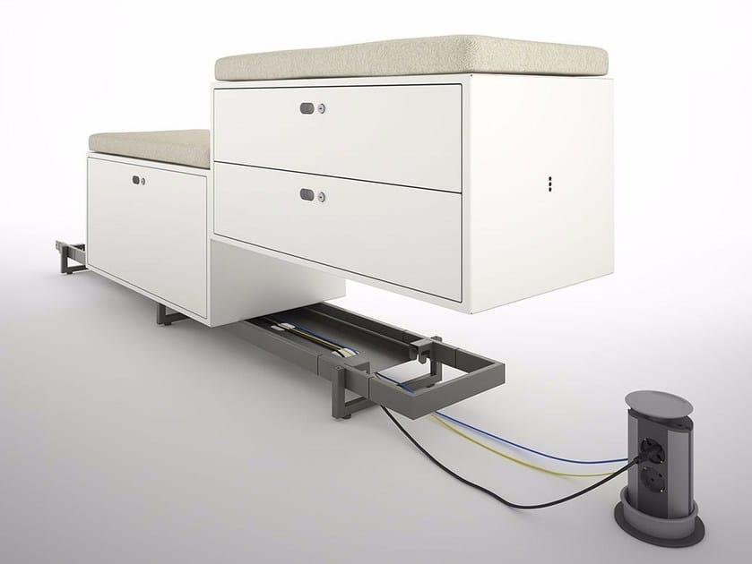 Mobile ufficio modulare DOTBOX EVOLUTION UNITS by Dieffebi
