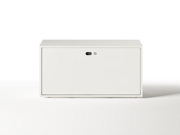 Design modular metal office storage unit DOTBOX | Modular office storage unit by Dieffebi