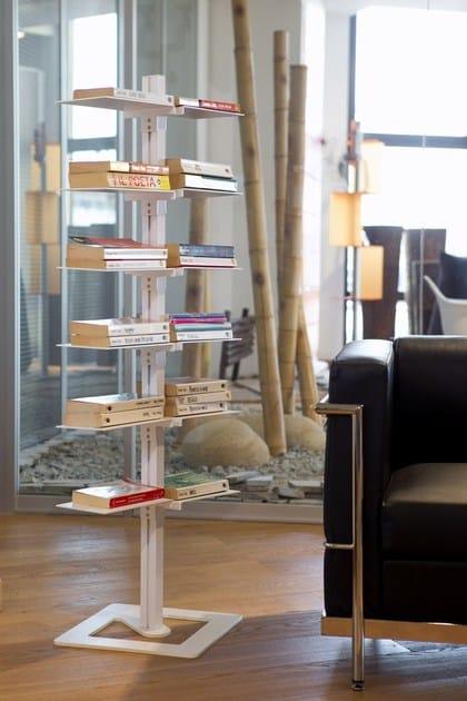DOTTO | Libreria autoportante Dotto 12 piani  Libreria autoportante in alluminio I design Minimal