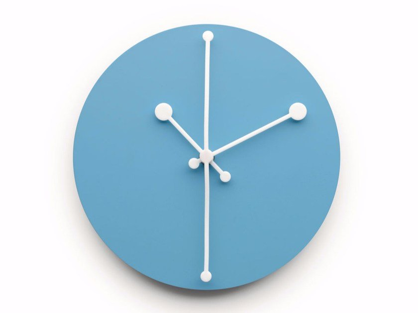 Wall-mounted clock DOTTY CLOCK by Alessi