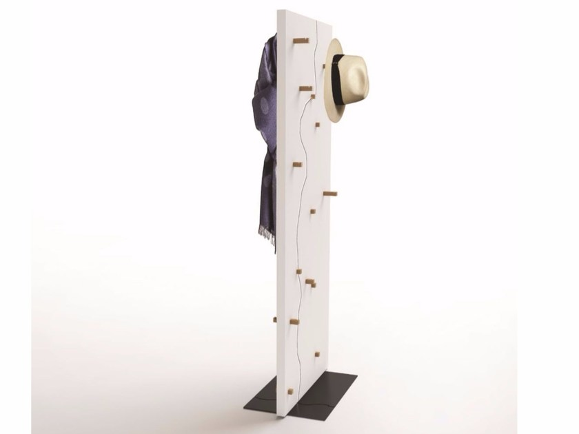 MDF coat rack DOUBLE by ARKOF LABODESIGN