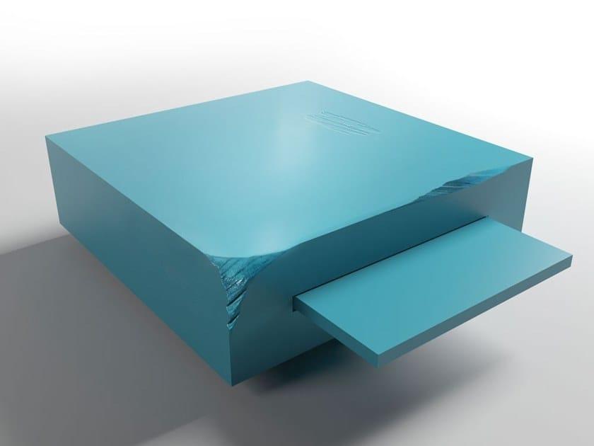 Low square coffee table DOUBLE by Adriani e Rossi edizioni