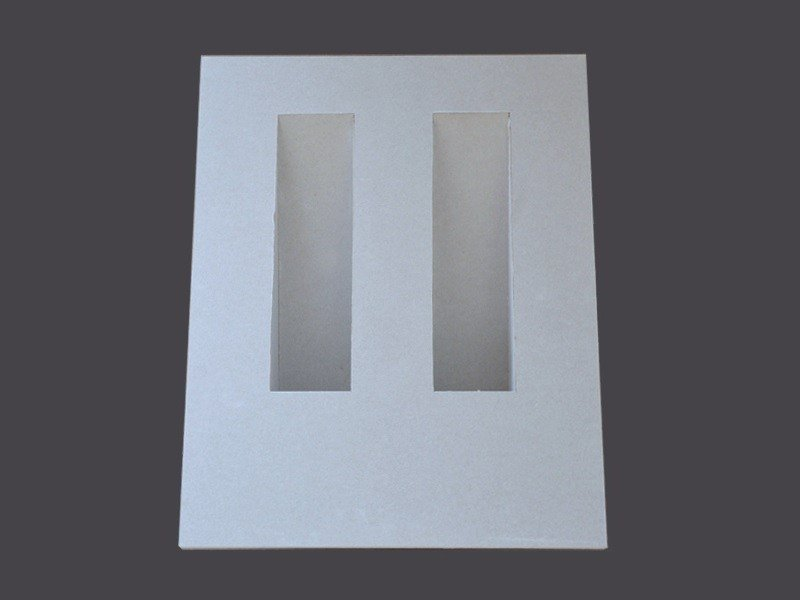 Wall light fixtures in Plasterboard DOUBLE RECESSED WALL LIGHT FIXTURES U75 by Gyps