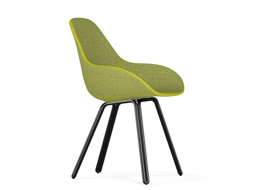 Fabric chair DOUBLE DIMPLE TAILORED by KUBIKOFF
