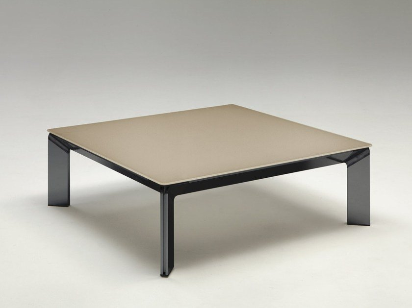 Tempered glass coffee table DOUBLE by IDEAS Group