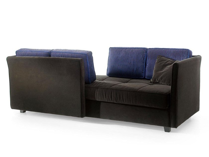 2 seater fabric sofa DOUBLE by Sicis