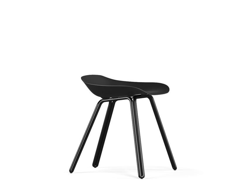 Polypropylene stool DOUBLE V9   Stool by KUBIKOFF