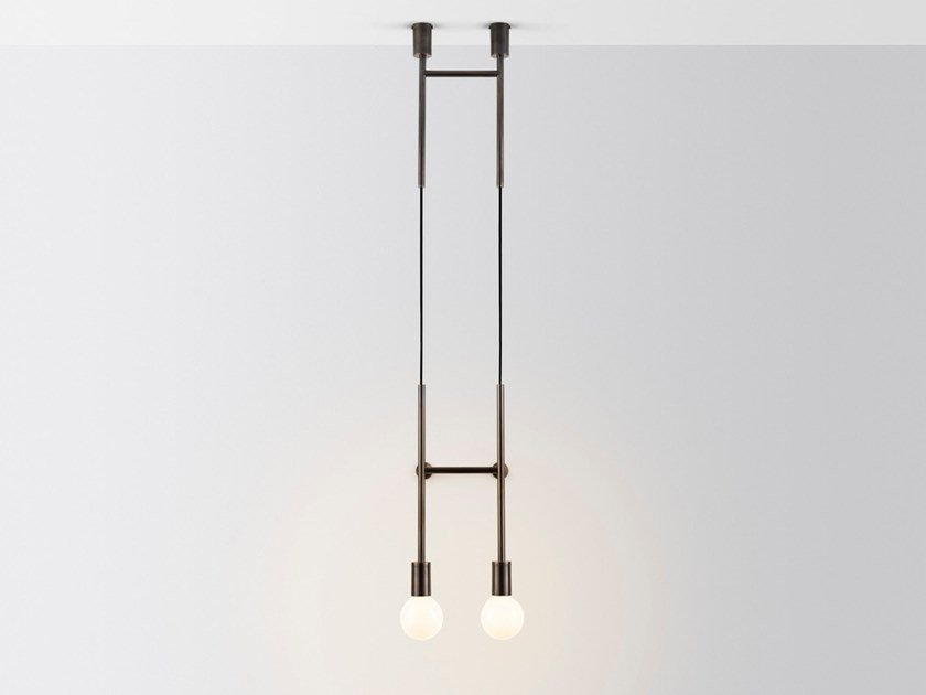 LED wall lamp DOUBLE WAL STEP by Volker Haug Studio