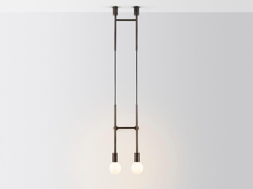 Lampada da parete a LED DOUBLE WAL STEP by Volker Haug Studio