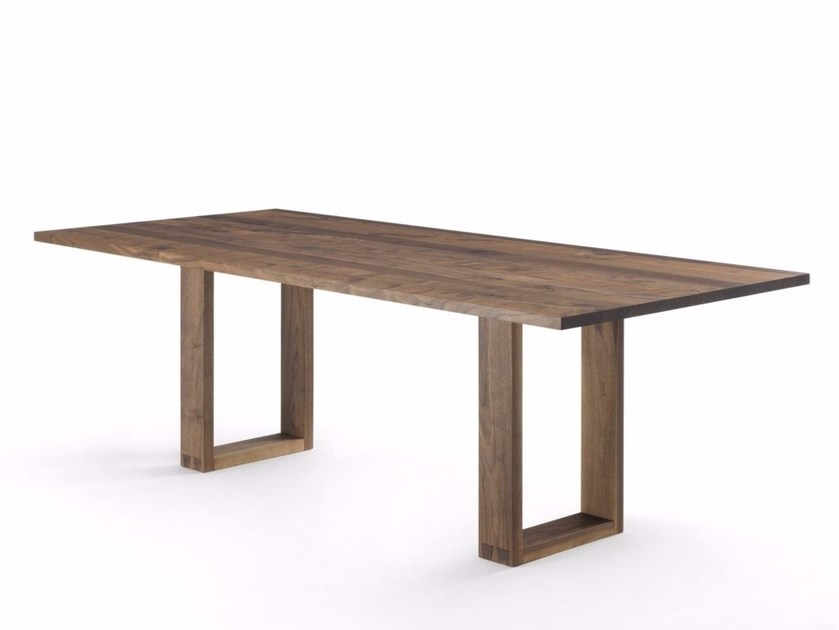 Rectangular solid wood table DOVE by Riva 1920
