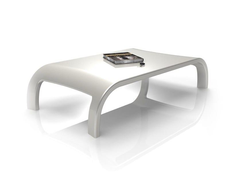 Tavolino rettangolare in Adamantx® DOWNHILL by ZAD ITALY