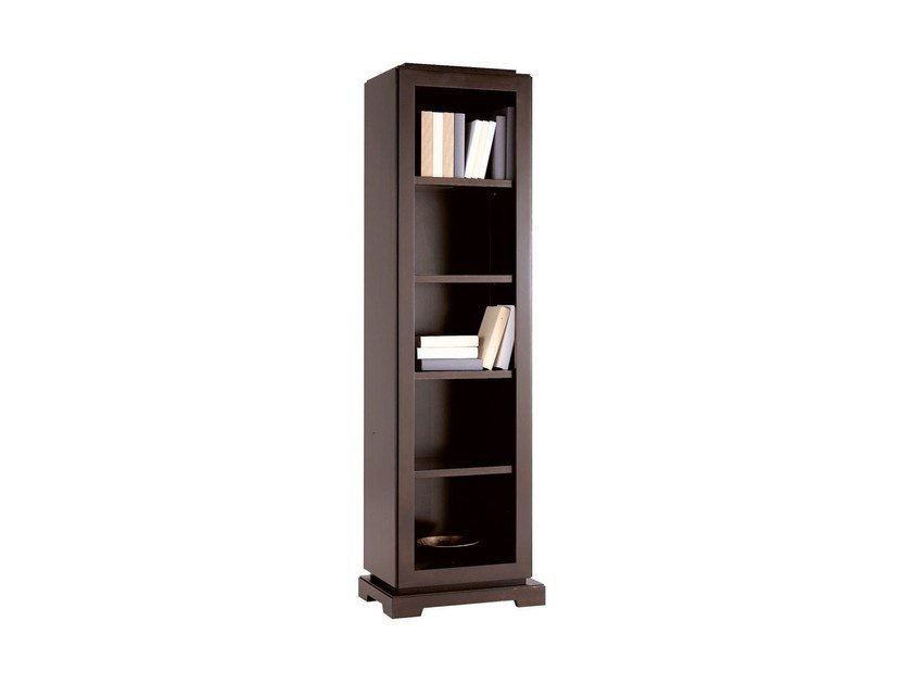Wall-mounted wooden bookcase DOWNTOWN | Bookcase by SELVA