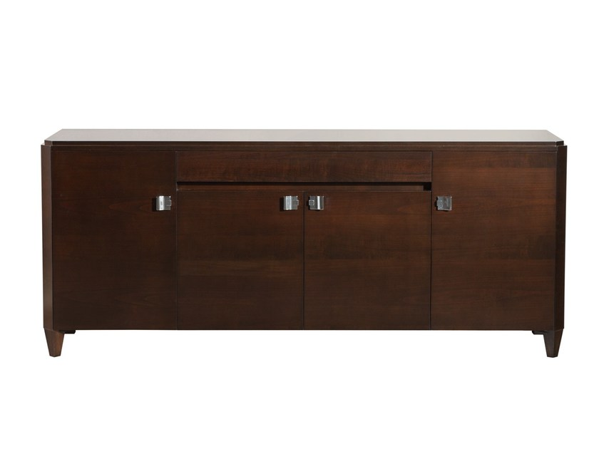 Classic style wooden sideboard with doors DOWNTOWN | Sideboard by SELVA