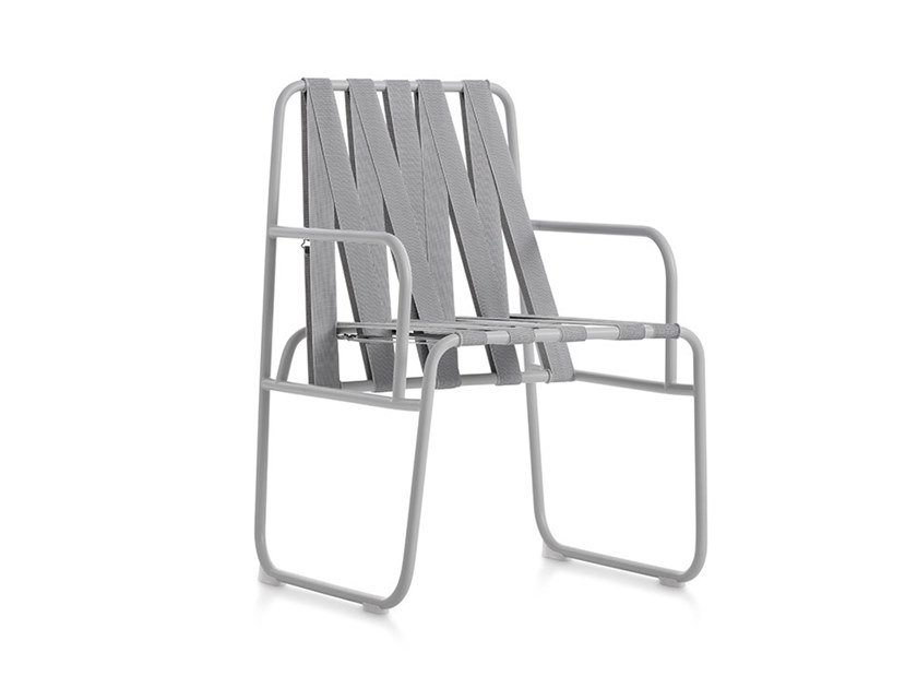 Garden chair with armrests DOZEQUINZE | Chair with armrests by Diabla