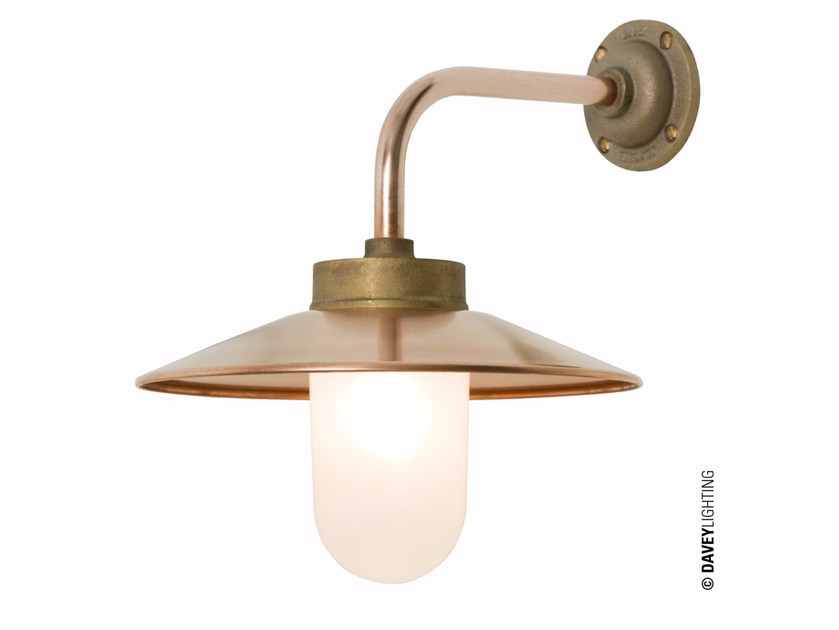 Metal wall lamp with fixed arm DP7680 | Direct-indirect light wall lamp by Original BTC