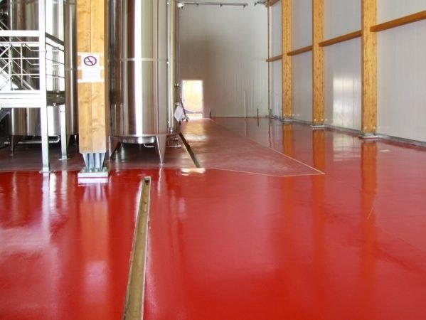 Resin industrial flooring DRACOFLOOR LD by DRACO ITALIANA