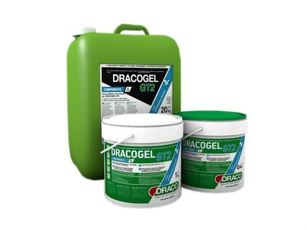 Additive and resin for waterproofing DRACOGEL GT2 by DRACO ITALIANA