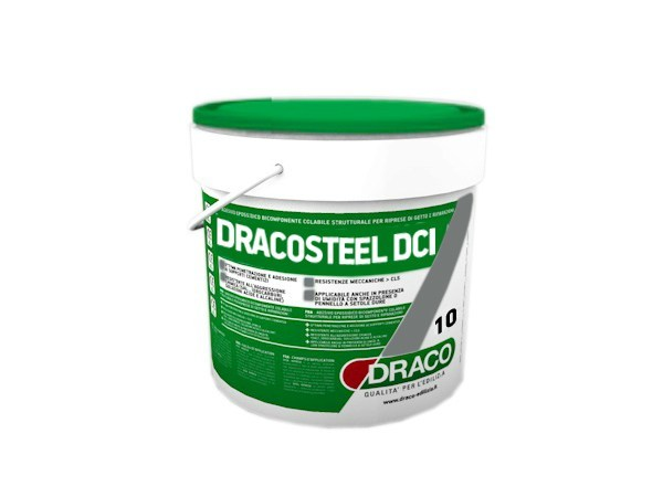 Additive for cement and concrete DRACOSTEEL DCI by DRACO ITALIANA