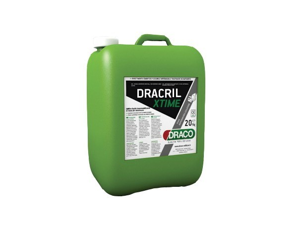 Additive for cement and concrete DRACRIL XTIME by DRACO ITALIANA