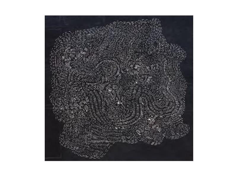 Handmade wool rug DRAGNOIROK by HC28