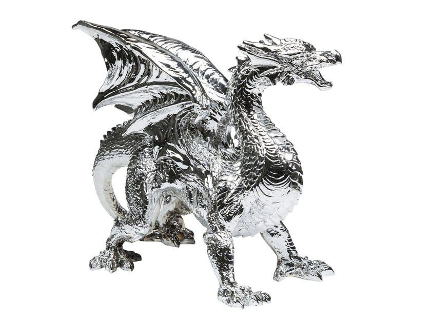 Soprammobile in resina DRAGON CHROME by KARE-DESIGN