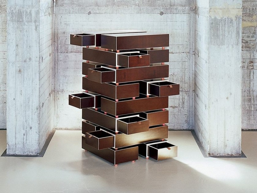 Free standing modular chest of drawers DRAW by Morgen