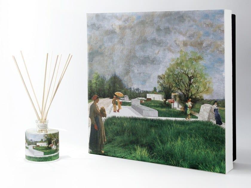 Natural stone Air freshener dispenser DRAWINGS Premium - Tabacco e Agrumi by IWISHYOU