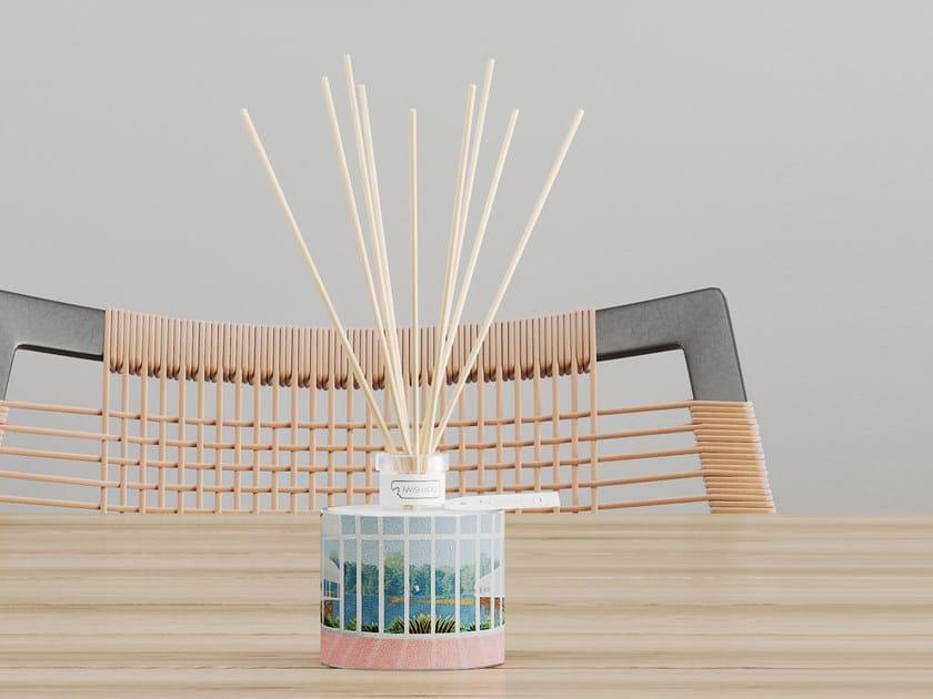 Natural stone Air freshener dispenser DRAWINGS Prestige - Uva e Mirtilli by IWISHYOU