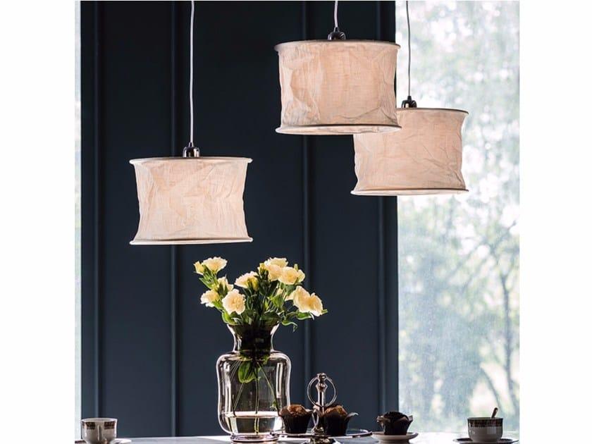 Linen pendant lamp DREAM by Cattelan Italia