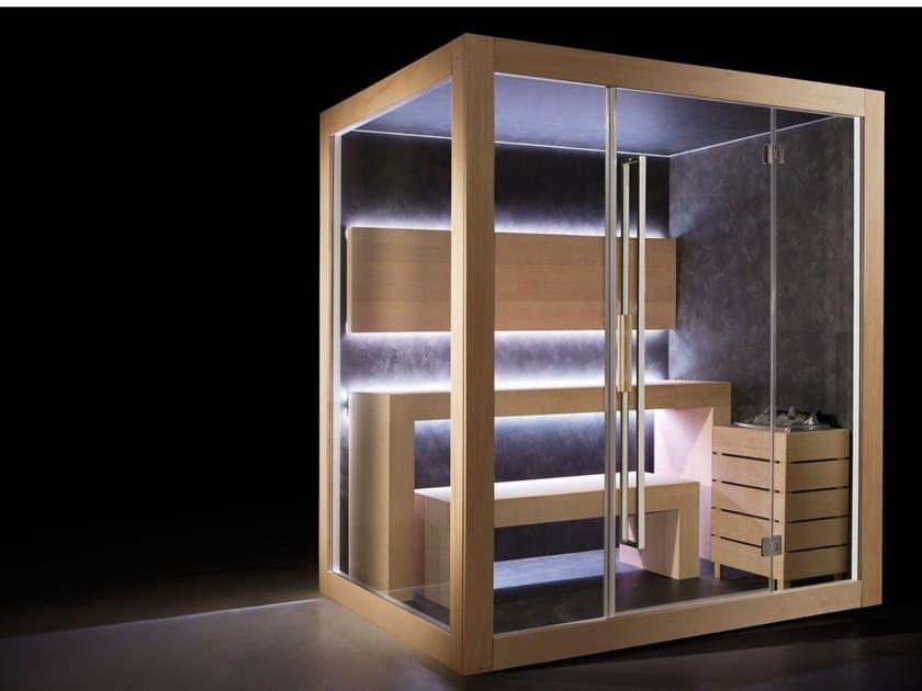 Sauna finlandese prefabbricata DREAM | Sauna by CARMENTA