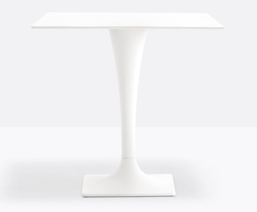 Steel contract table DREAM 4820 by PEDRALI