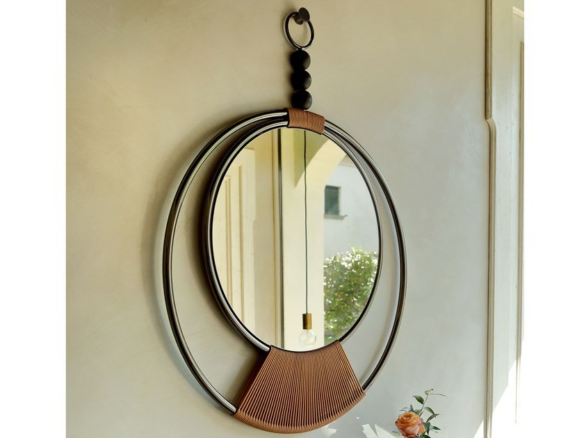 Round wall-mounted mirror DREAMY | Mirror by Tonin Casa