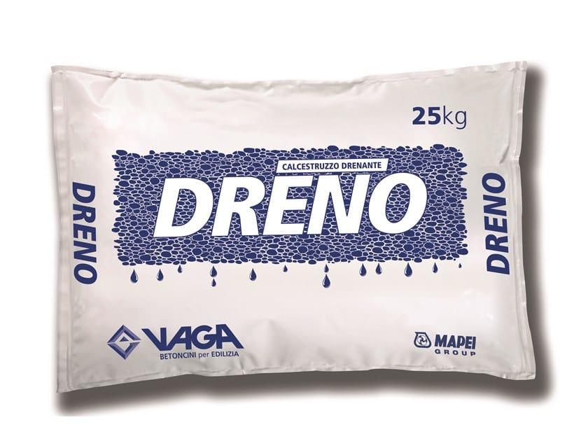 Pre-mixed structural concrete DRENO by VAGA