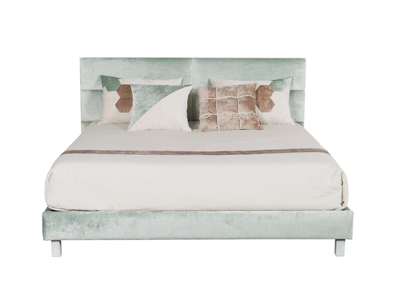 Upholstered Imitation leather bed double bed DRESDEN by Green Apple