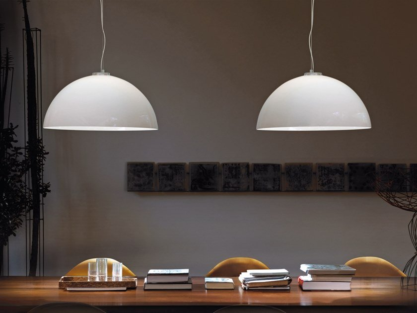 Lámpara colgante de vidrio DRESS SP by Vetreria Vistosi