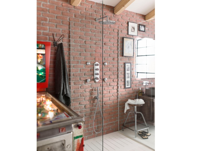 Recessed thermostatic shower set DRESS | Shower set by Nobili Rubinetterie