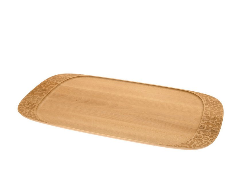Beech tray DRESSED IN WOOD by Alessi