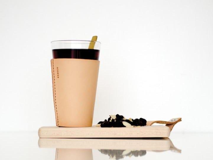 Tanned leather drink holder DRINK HOLDER by Gedigo