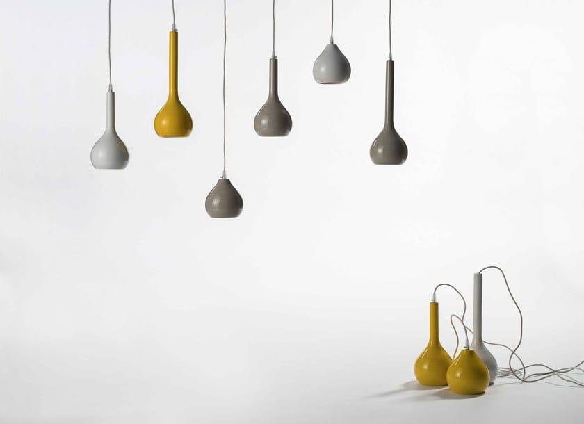 Ceramic pendant lamp DRIP | Pendant lamp by Ex.t