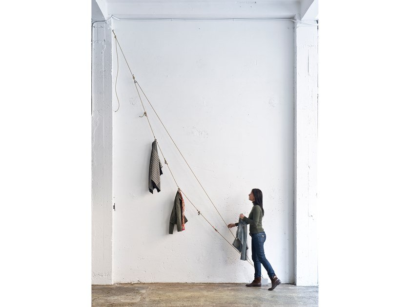Rope coat rack DRIZA by DVELAS
