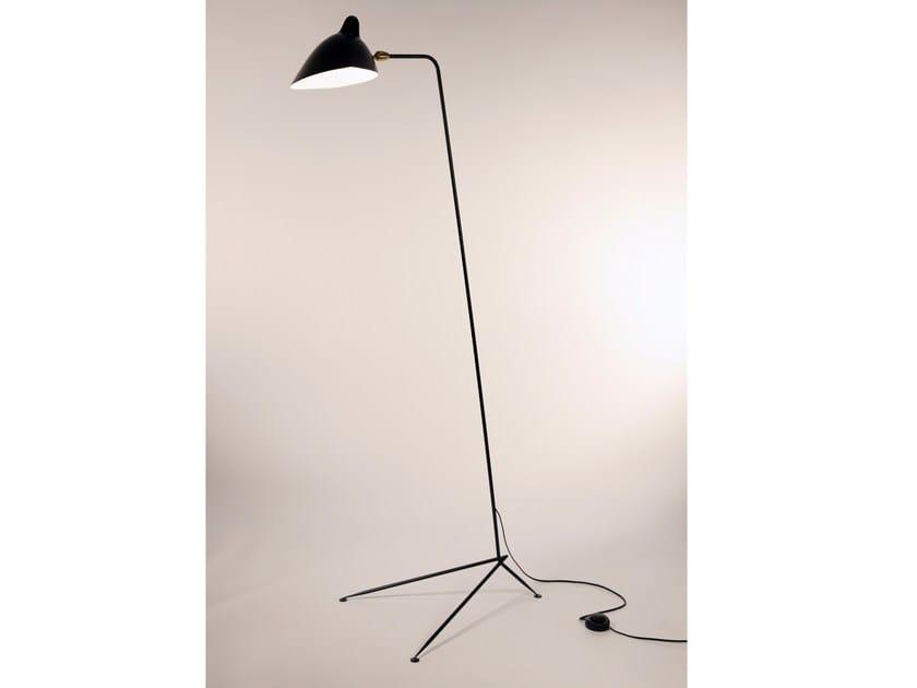 Adjustable metal floor lamp LD | Floor lamp by Serge Mouille