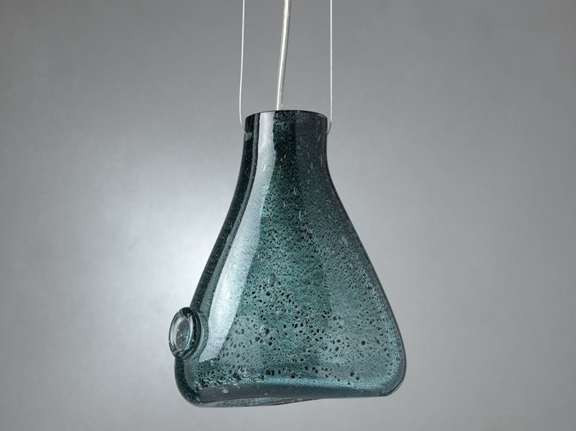 Direct light glass pendant lamp DROP by Gie El Home