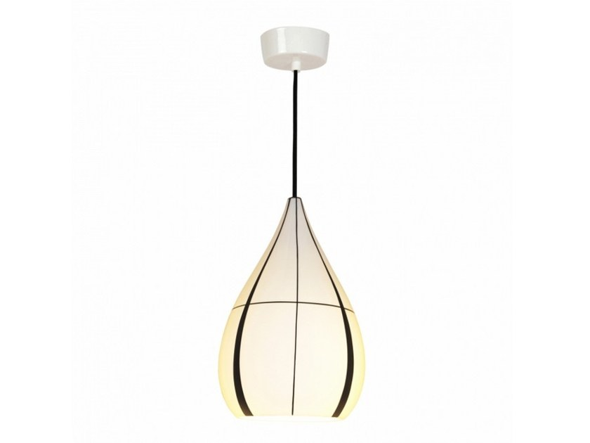 Lampada a sospensione in porcellana con dimmer DROP LINEAR by Original BTC