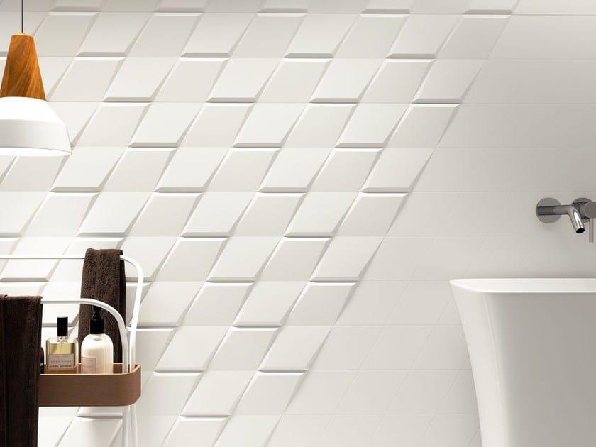 White-paste wall tiles DROP by ZYX