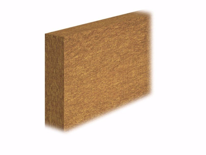 Wood fibre thermal insulation panel DRY 110 by FASSA