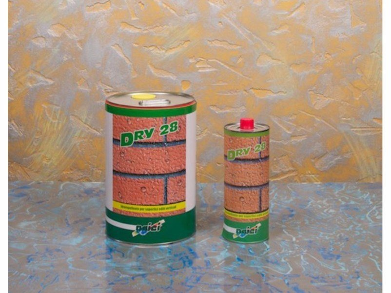 Water repellent water-based paint DRY 28 by NAICI ITALIA