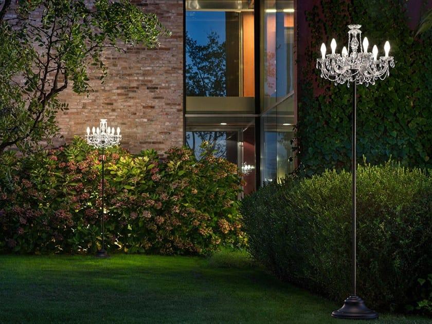 Lampada da terra per esterno in PMMA DRYLIGHT STL6 by Masiero