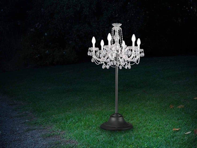 Lampada da terra per esterno in PMMA DRYLIGHT TL6 by Masiero