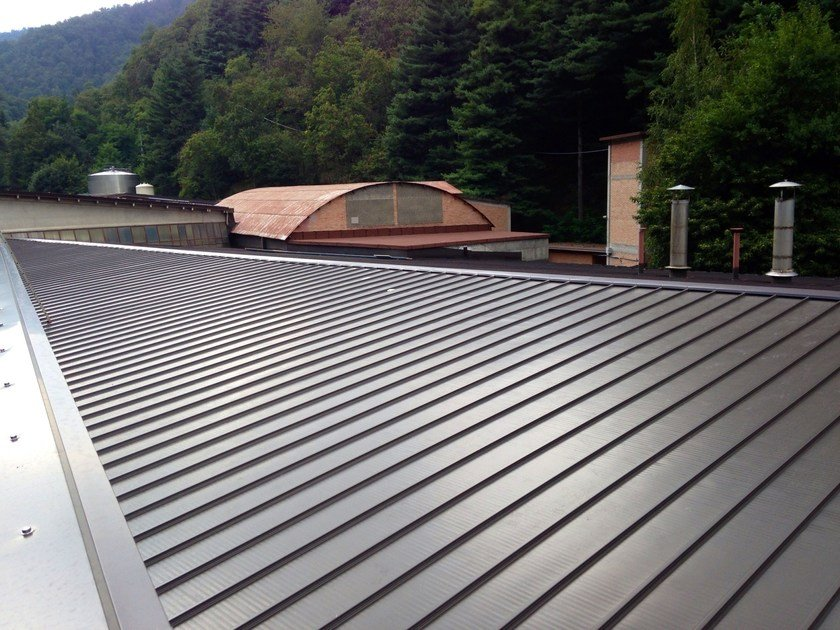 Coverage system  with joint drainage DRYTEC® by CENTROMETAL
